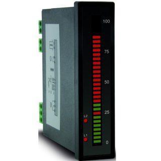 Bargraph Vertical 4-20mA 0-10V Température PT100 Thermocouple - OMB300UNI - ADEL Instrumentation