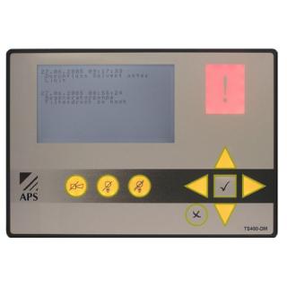 Détection alarmes signalisation défauts - TS400 - Adel Instrumentation