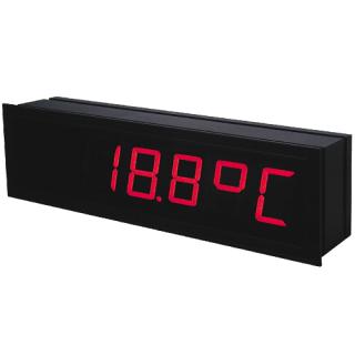 Grand Afficheur Industriel 4-20mA 0-10V Température PT100 Thermocouple OMD202UNI - Adel Instrumentation