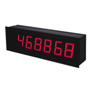 Grand afficheur géant Compteur Totalisateur Fréquencemètre OMD202UQC - Adel Instrumentation