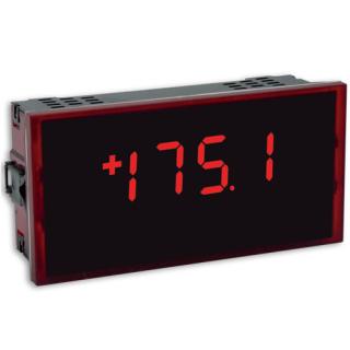 Indicateur numérique 4-20mA 0-10V Température PT100 Thermocouple faible profondeur - OML343 - ADEL Instrumentation