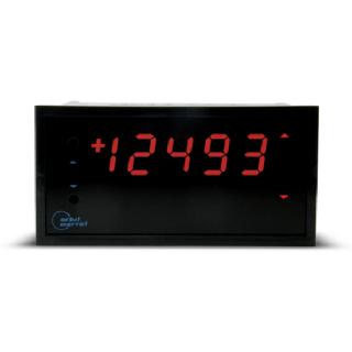Indicateur numérique Process 4-20mA 0-10V Analogique - OM47DC - Adel Instrumentation