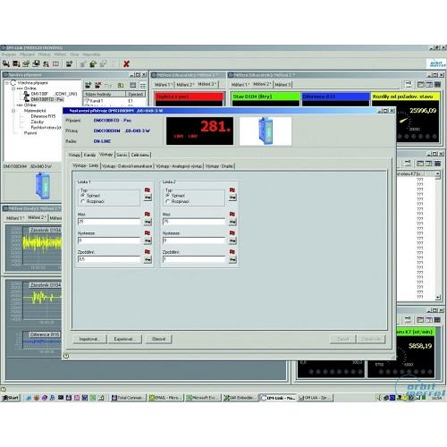Logiciel de Configuration Indicateur Numérique OMLINK - ADEL Instrumentation