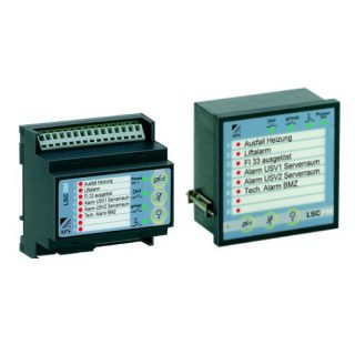 Signalisation de défauts et d'alarmes techniques - LSC - ADEL Instrumentation