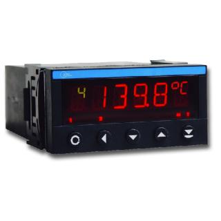 Indicateur numérique Multivoies 4 entrées 4-20mA - 0-10V - Température OM402UNI - B - ADEL Instrumentation