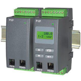 Convertisseur Transmetteur de Puissance Monophasé Sortie 4-20mA – 0-10V - P12P - ADEL Instrumentation