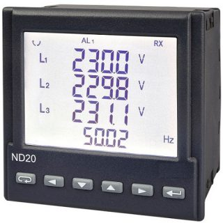 Indicateur Analyseur de Réseau Alternatif Triphasé ND20 - ADEL Instrumentation