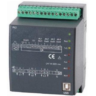 Transmetteur Convertisseur de Puissance Triphasé Sortie 4-20mA – 0-10V - P43 - ADEL Instrumentation