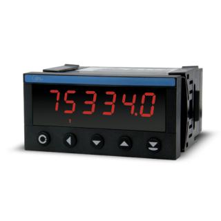 Indicateur Numérique - Format 48x96 - Chronomètre Horloge - ADEL Instrumentation -
