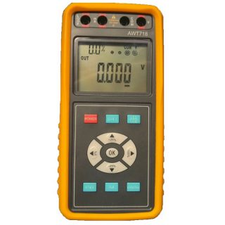 Calibrateur Fréquence – 4-20mA – 0-10V - AWT718 - ADEL Instrumentation