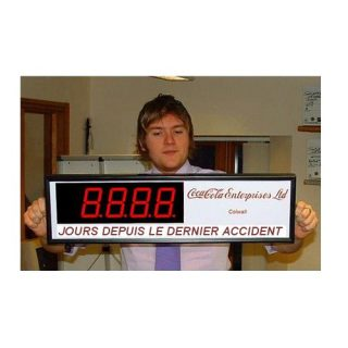 Compteur Jours Sans Accident - ADEL Instrumentation