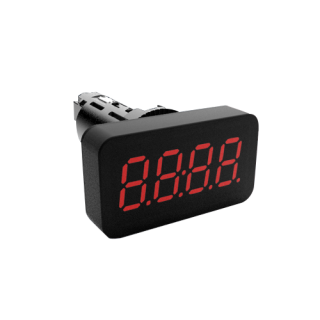 Indicateur 4-20mA 0-10V - Perçage Rond - OMM3535PM - Adel Intrumentation