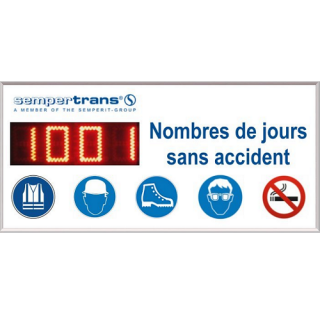 Jours Sans Accident et Record - ADEL Instrumentation