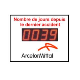 Nombre de Jours Sans Accident