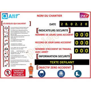 Panneau d'Affichage et d'Information Sécurité - ADEL Instrumentation