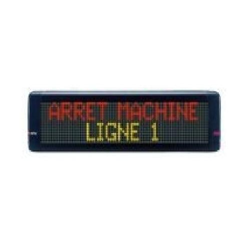 Affichage d'Alerte - ADEL Instrumentation