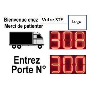Gestion de File d'Attente Camions