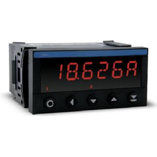 Indicateur Numérique - Format 48x96 - Voltmètre et Ampèremètre Continu
