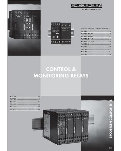 Catalogue Relais de Surveillance et de Contrôle – Brodersen - ADEL Instrumentation