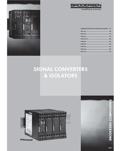 Guilde de sélection - Choix Convetisseur Isolateur - ADEL Instrumentation