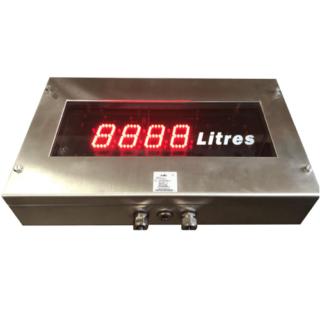Grand Afficheur Zone ATEX - Compteur Totalisateur Fréquencemètre Chronomètre