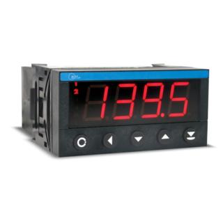 Indicateur Numérique format 48 x 96 - Hauteur Digits 20 mm - Entrée DC - ADEL Instrumentation